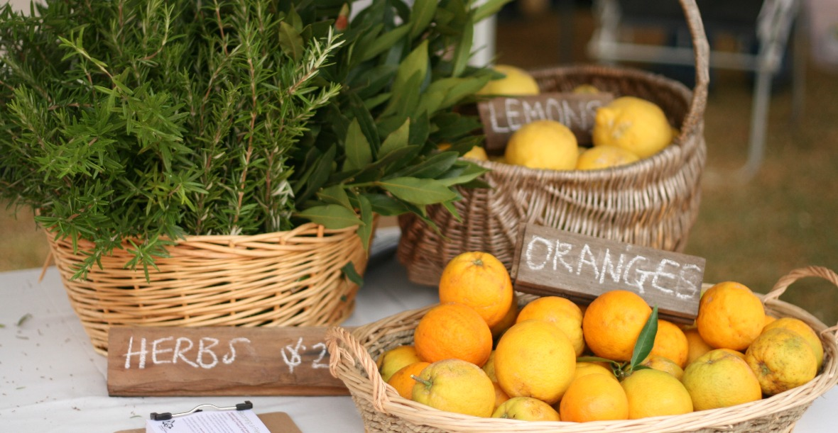 Photo of fresh produce from Warragul Farmers' Market