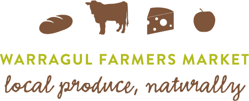 Warragul Farmers Market horizontal logo